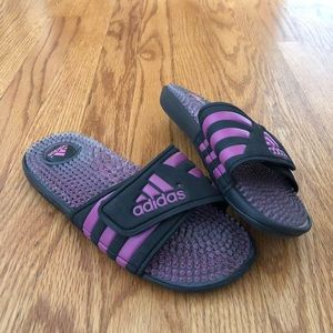 Women's Adidas Adissage slides slip on sandals